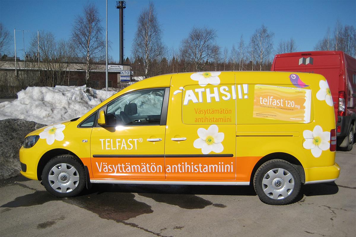Telfast-kampanjateippaus