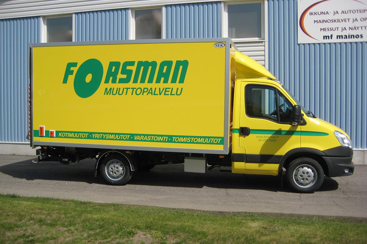 forsman-Iveco-pieni