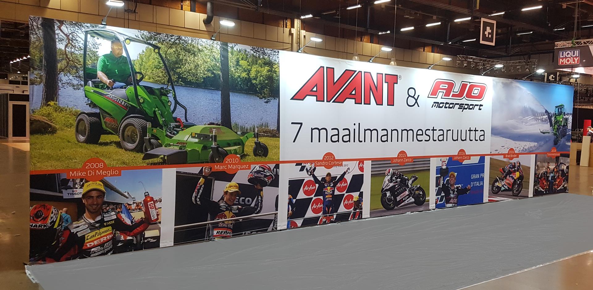 Avant & AJO Motorsport kangasseinä